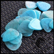 Resin Tones - Mr Blue Sky - 1 Guitar Pick | Timber Tones